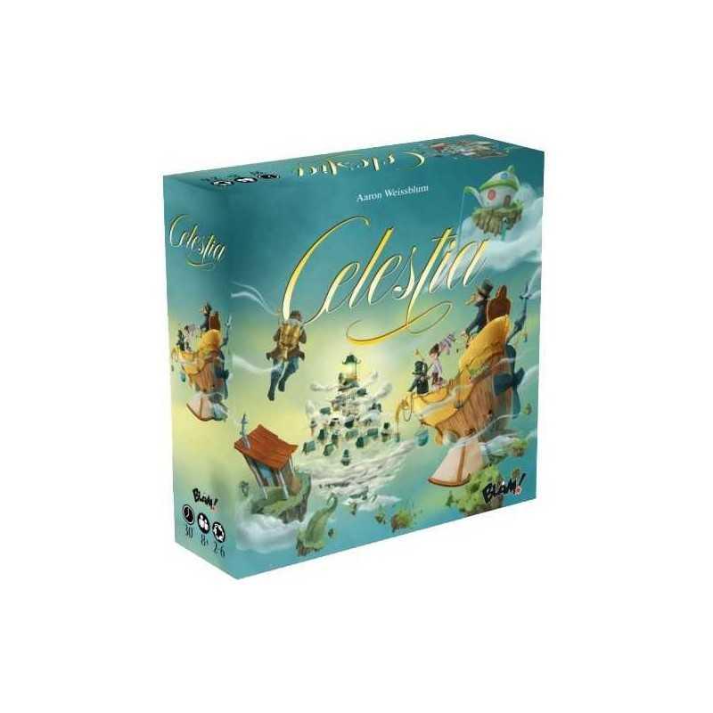 CELESTIA Ghenos Games GIOCO DA TAVOLO Italiano TATTICO E DIVERTENTE età 8+