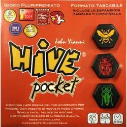 HIVE POCKET tascabile GIOCO ASTRATTO italiano UNO CONTRO UNO pluripremiato PORTATILE età 9+