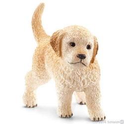 CUCCIOLO di GOLDEN RETRIEVER animali in resina SCHLEICH miniature 16396 farm life CANE dog