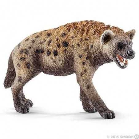 IENA animali in resina SCHLEICH miniature 14735 wild life RIDENS hayena