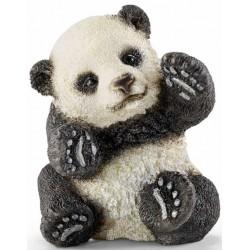 PANDA CUCCIOLO CHE GIOCA animali in resina SCHLEICH miniature 14734 wild life