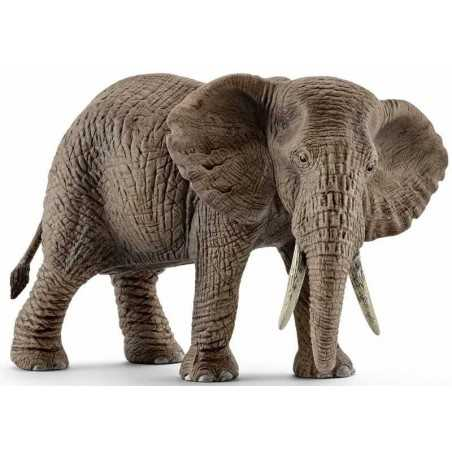 ELEFANTE AFRICANO FEMMINA 2016 animali in resina SCHLEICH miniature 14761 elephant WILD LIFE