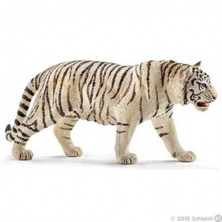 TIGRE BIANCA animali in resina SCHLEICH miniature 14731 tiger WILD LIFE