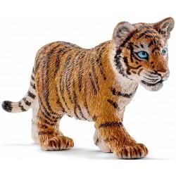 TIGRE cucciolo TIGER animali in resina SCHLEICH miniature 14730 Wild Life