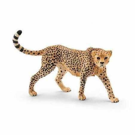 GHEPARDO FEMMINA 2016 animali in resina SCHLEICH miniature 14746 Wild Life CHEETAH