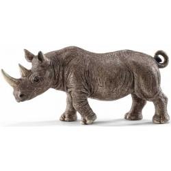 RINOCERONTE animali in resina SCHLEICH miniature 14743 Wild Life RHINO