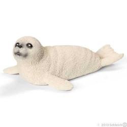 FOCA CUCCIOLO animali in resina SCHLEICH miniature 14703 Wild Life SEA LION