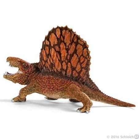DIMETRODONTE dinosauri in resina SCHLEICH miniature 14569 dimetrodon