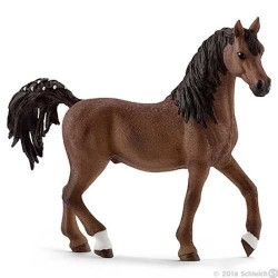 STALLONE ARABO animali in resina SCHLEICH miniature 13811 cavalli
