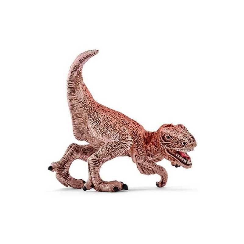VELOCIRAPTOR MINI arancio ARANCIONE animali in resina SCHLEICH miniature 82938 DINOSAURI