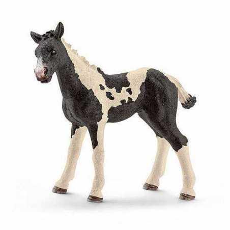 PULEDRO PINTO animali in resina SCHLEICH miniature 13803 Farm Life CAVALLO 3+