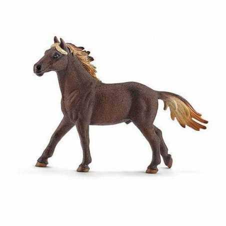 STALLONE MUSTANG animali in resina SCHLEICH miniature 13805 Farm Life CAVALLO 3+