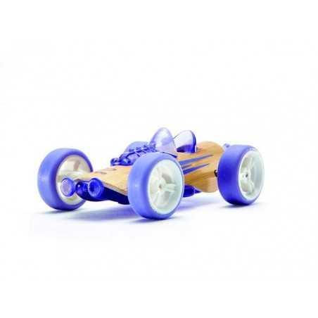 SPORTSTER VIOLA auto in legno BAMBOO macchinine HAPE mini veicoli GIOCO età 3+