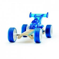 DRAGSTER BLU auto in legno BAMBOO macchinine HAPE mini veicoli GIOCO età 3+