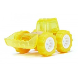 BULLDOZER auto in legno BAMBOO macchinine HAPE mini veicoli GIOCO età 3+