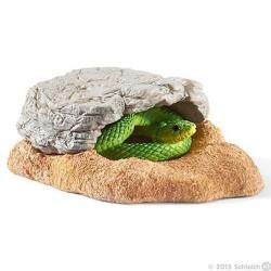 NIDO DI SERPENTE animali in resina SCHLEICH accessori 42245 miniature WILD LIFE età 3+