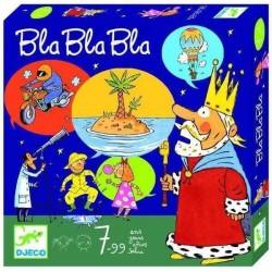BLA BLA BLA blablabla ASSOCIARE IMMAGINI gioco da tavolo RACCONTARE STORIE Djeco DAI 7 ANNI