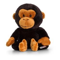 PELUCHE SCIMPANZE scimmia 14 cm Pippins Keel Toys CLASSICO pupazzo bambola
