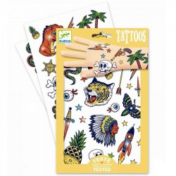 TATUAGGI BANG BANG tattoo per bambini DJECO DJ09577 rimuovibili con acqua