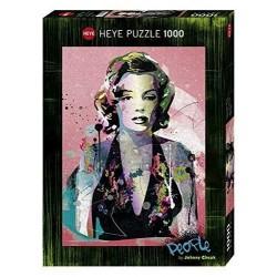 Puzzle MARILYN MONROE Heye 29710 1000 pezzi 50x70 cm People