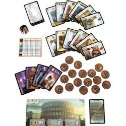 7 Wonders Leaders ediz. ITA expansion + promo card STEVIE