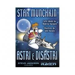 Étoiles et catastrophes pour l'expansion de StarMunchkin
