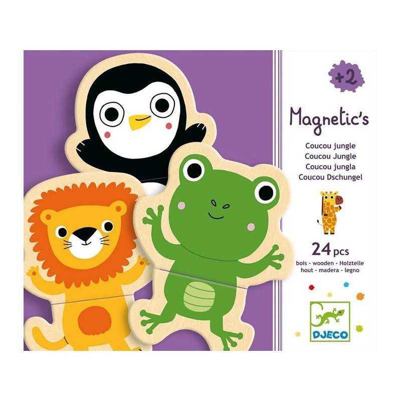 """Magnetic Puzzle """"Coucou"""" 24 PCs, age 2 +"""