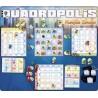 QUADROPOLIS gioco da tavolo gestionale di costruzione QUADRO POLIS età 8+ Asterion Press