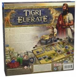 Tiger & Euphrat kulturellen Fortschritt Spiel, Zivilisation und Kriegsspiele kombiniert in Italienisch