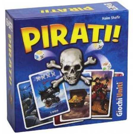 PIRATI! pirati GIOCO DA TAVOLO carte e dadi GIOCHI UNITI di società HAIM SHAFIR età 8+