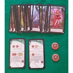 DARK TALES LITTLE RED RIDING HOOD 2 Expansion DvGiochi-4 players age 14 + 30 min
