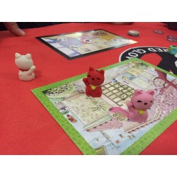 NEKO-neko in RED GLOVE boardgame KITTENS cats HIDEOUTS party game 7 +