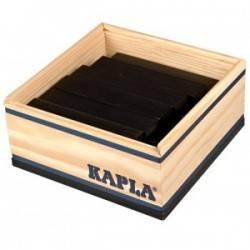 Kapla case 40 PCs noir couleur