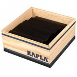 Kapla box 40 PCs black color
