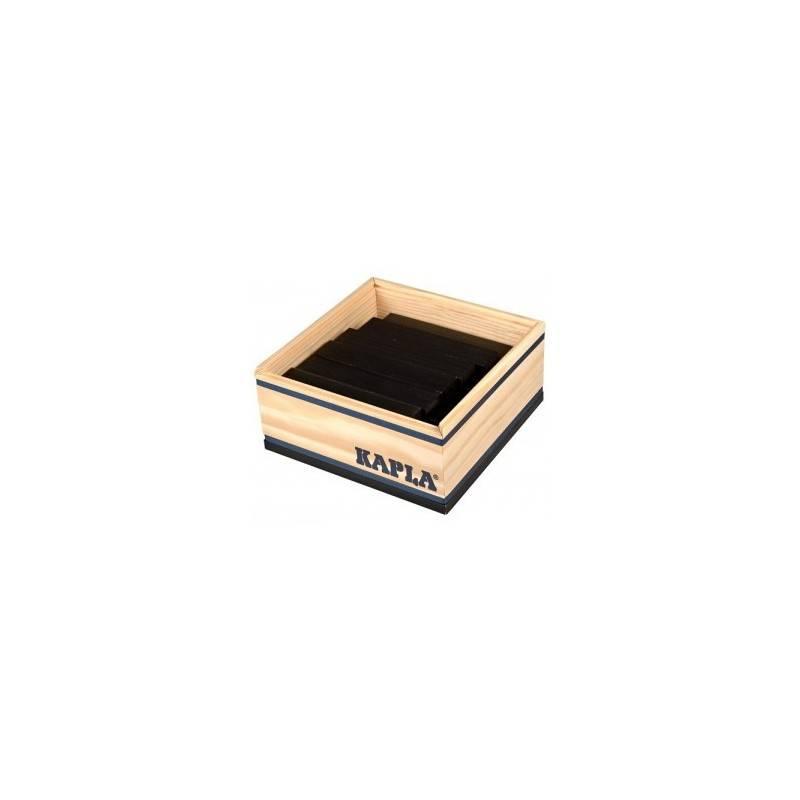 Kapla box 40 PCs black color