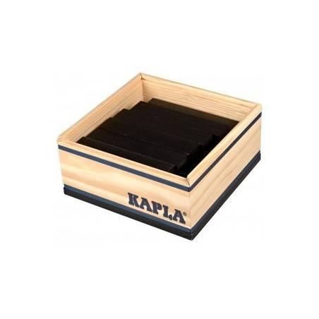 Kapla confezione 40 pz colore nero