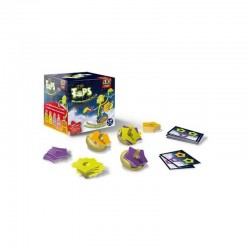 TIP TOPS bioviva SPINNERS age 6 + game for skill 2-5 players GAME PARTY