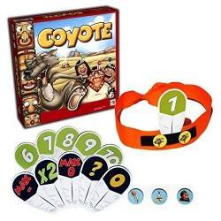 COYOTE INDIAN board game oliphante games calculation and BLUFF party game 12 +