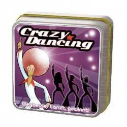 Danse jeu CRAZY DANCING party game OLIPHANTE TIN BOX ages 8 + Cocktail Games