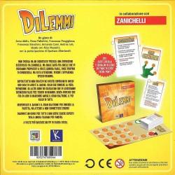 EASY ITALIAN age 12 + GAME Oliphante DILEMMAS QUIZ board game