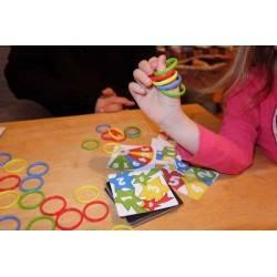 RINGS UP! oliphante UP ! gioco da tavolo OSSERVAZIONE DESTREZZA VELOCITA' età 6+
