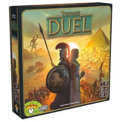 7 WONDERS DUEL ONE-ON-ONE Italian Edition 10 + 2 players ages ASTERION
