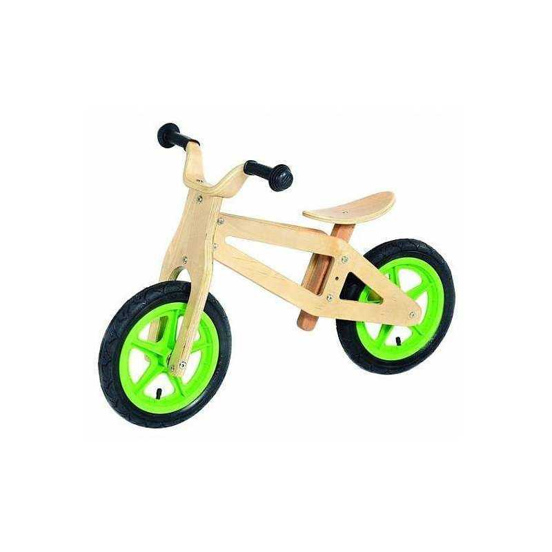 Wooden Mini Moto Bike Bicycle Without Pedals Equilibrium Holm From 3 To 6 Years Develops Balance
