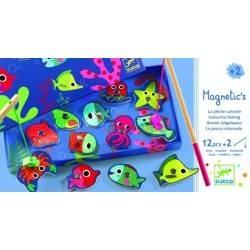 Colored magnetic fishing