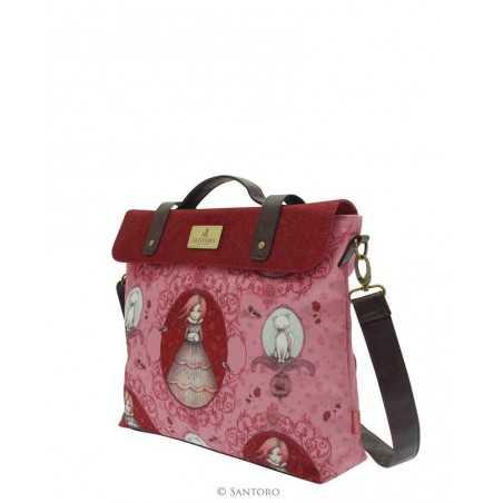 TRACOLLA Santoro TRAVELLER'S REST borsa MIRABELLE lavoro viaggi SATCHEL manici 574EC02 bag
