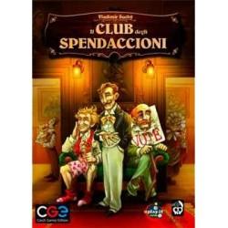 IL CLUB DEGLI SPENDACCIONI the prodigals club EDIZIONE ITALIANA gioco di società CRANIO età 14+