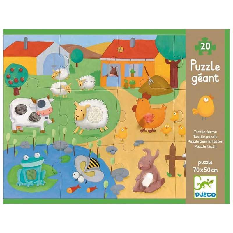 """Taktile Riesen Puzzle """"Bauernhof"""", 20 Stk., Alter 3 +"""