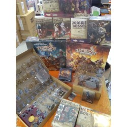 ZOMBICIDE BLACK PLAGUE Special Kickstarter Bundle Knight Pledge with Wulfsburg Expansion and all Stretch Goals