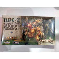 Zombicide Black Plague NPC-2 ESPANSIONE zombie miniatures expansion Notorius Plagued Characters box