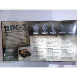 Zombicide Black Plague NPC-2 ESPANSIONE zombie miniatures expansion Notorius Plagued Characters box